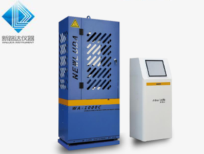 无锡新路达分享电液伺服万能试验机的使用方法