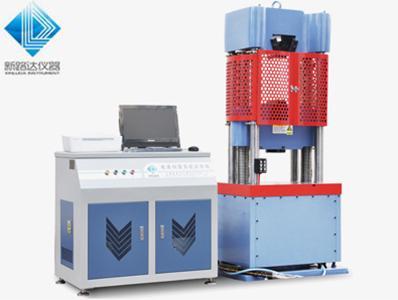 电液式万能试验机 使用说明书